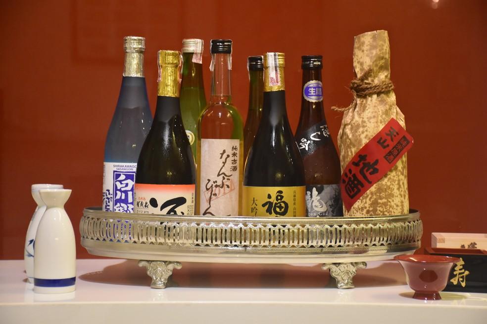 -  Saquê é uma bebida alcoólica fermentada a base de arroz.  Foto: Divulgação