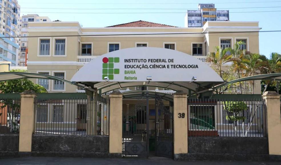 IFBA oferece vagas para professor substituto em Salvador e Lauro de Freitas — Foto: Divulgação