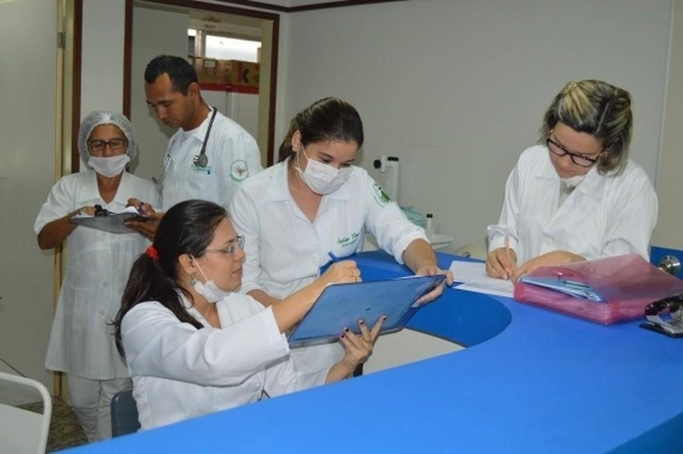 Prefeitura convocou 500 candidatos aprovados em concurso para a saúde do município em 2018. — Foto: Divulgação/Secretaria de Saúde de Natal