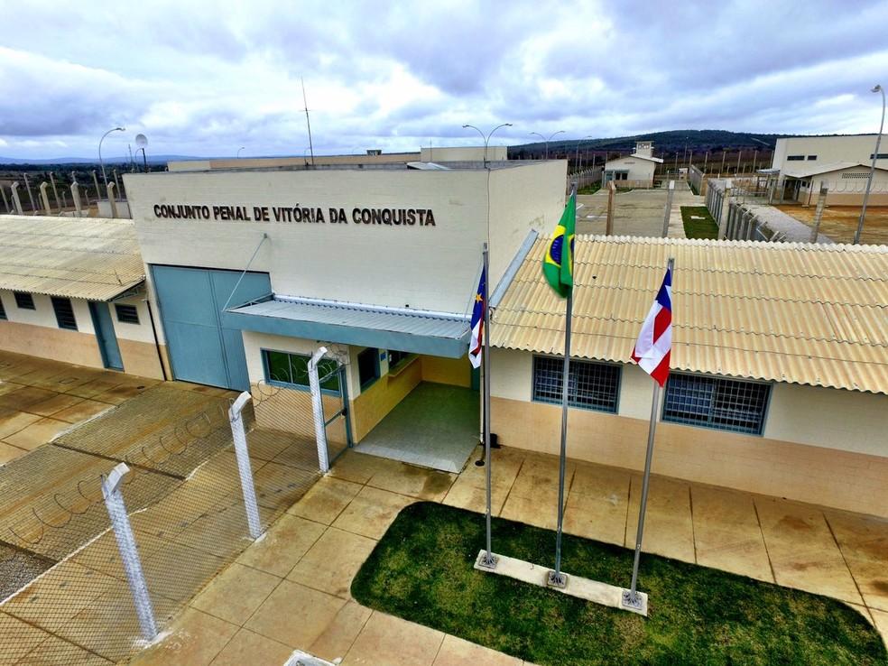 Homem foi encaminhado para o Conjunto Penal de Vitória da Conquista — Foto: Seap / Divulgação