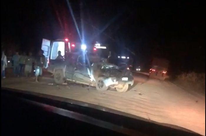 Menina de 3 anos morre e outras 4 pessoas da mesma família ficam feridas em acidente em MT
