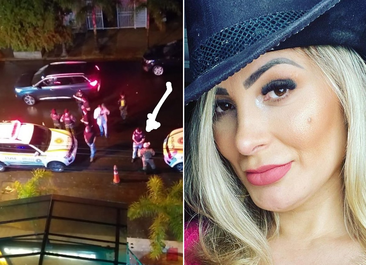 Andressa Urach diz que ex-marido mandou policiais onde ela fazia show (Foto: Reprodução/Instagram)