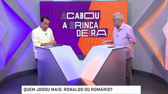 Quem foi melhor: Romário ou Ronaldo?
