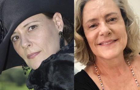 """Elizabeth Savala, que estará na trama das 19h """"Quanto mais vida melhor"""", interpretou a gananciosa Jezebel, mãe de Bernadete Reprodução"""