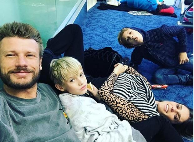 Rodrigo Hilbert e família nas férias (Foto: Reprodução/Instagram)