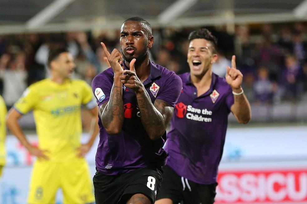 Gerson está emprestado pela Roma à Fiorentina — Foto: Getty Images