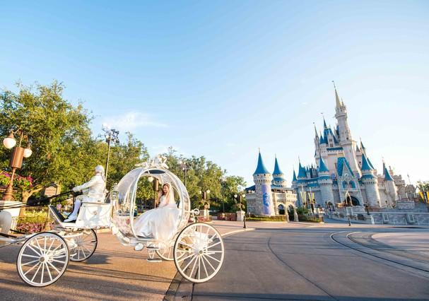 Casamento na Disney (Foto: Divulgação)
