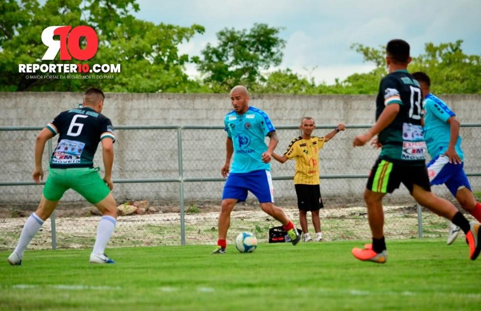 4 de Julho x Cocal dos Alves - amistoso 2020 — Foto: Renato Andrade/Reporter10.com