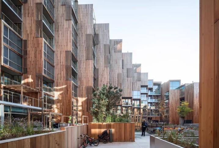 BIG conclui complexo que se funde à paisagem em Estocolmo (Foto: Divulgação)