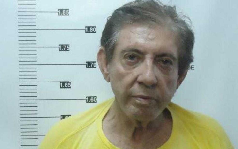 João de Deus está preso há quase 1 mês no Núcleo de Custódia de Aparecida de Goiânia — Foto: Reprodução/TV Anhanguera