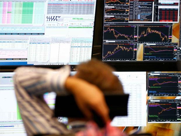 Ações europeias recuam com sentimento de aversão a risco