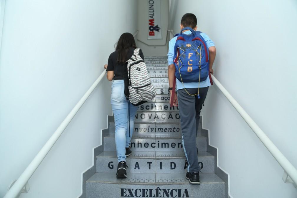 Bom Aluno tem sede em Curitiba e outras cidades brasileiras  — Foto: Giuliano Gomes/PR Press