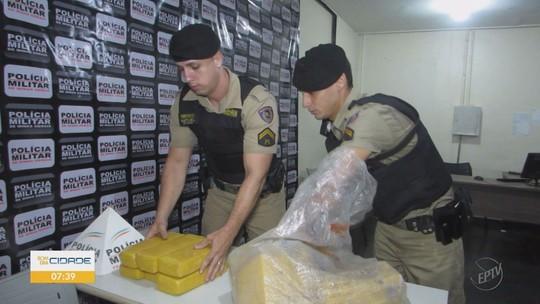 Polícia Militar apreende 20 kg de maconha durante operação em Pratápolis, MG