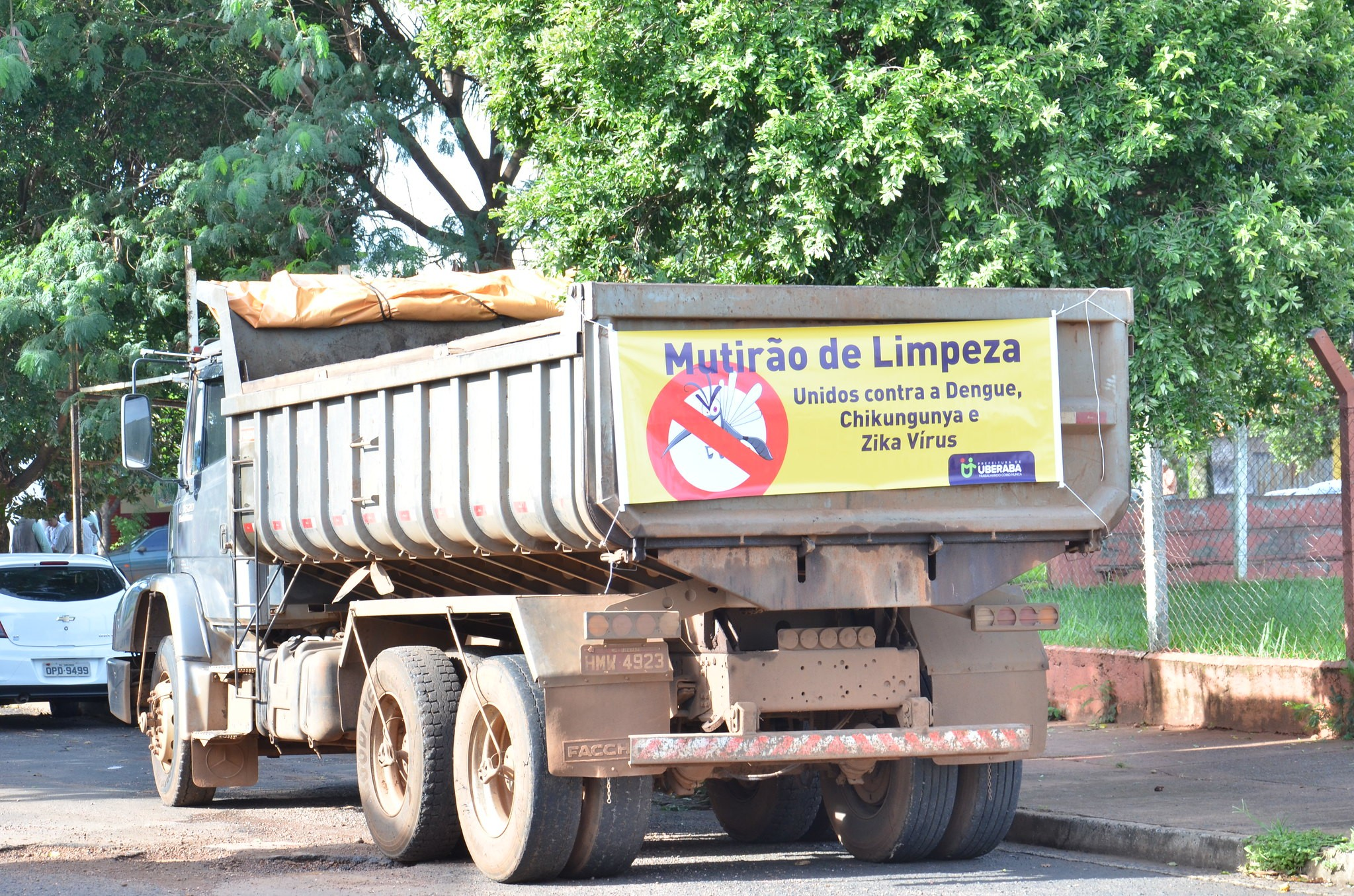 Mutirão de limpeza em Uberaba recolhe 48,5 toneladas de entulhos em sete meses