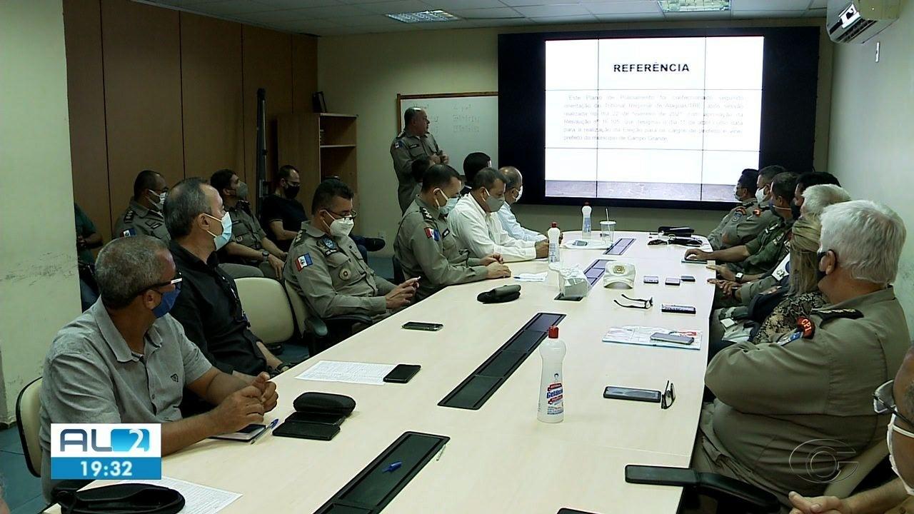 PM apresenta plano de segurança da eleição suplementar em Campo Grande