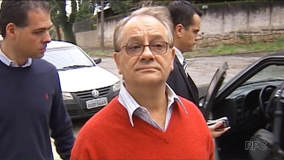 Ex-diretor da Alep Abib Miguel, o Bibinho — Foto: Reprodução/RPC