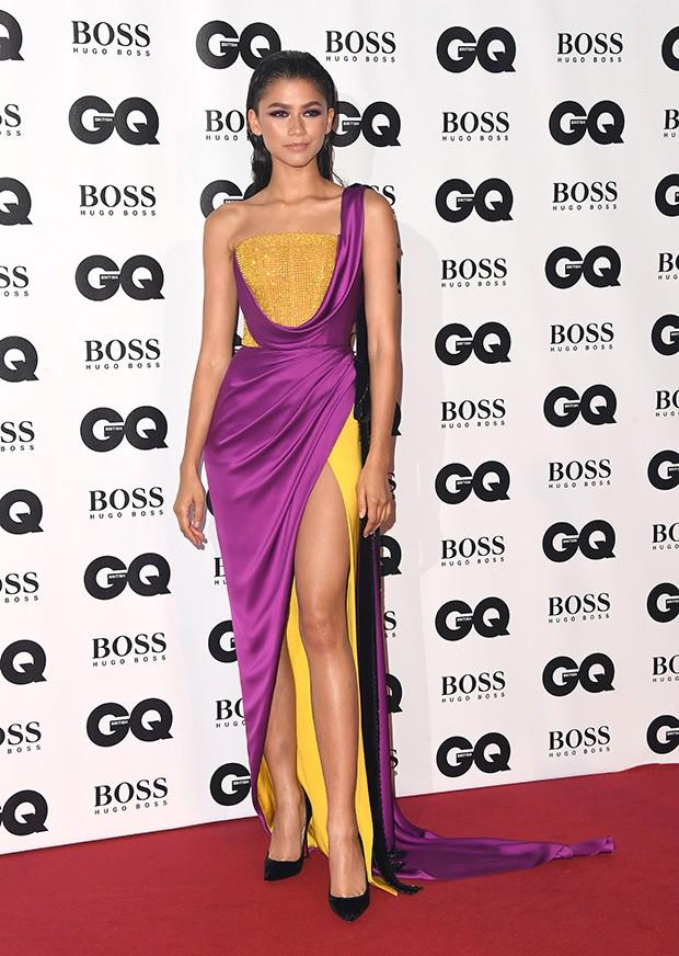 Zendaya no tapete vermelho do GQ Men of The Year Awards 2018 (Foto: Getty Images)