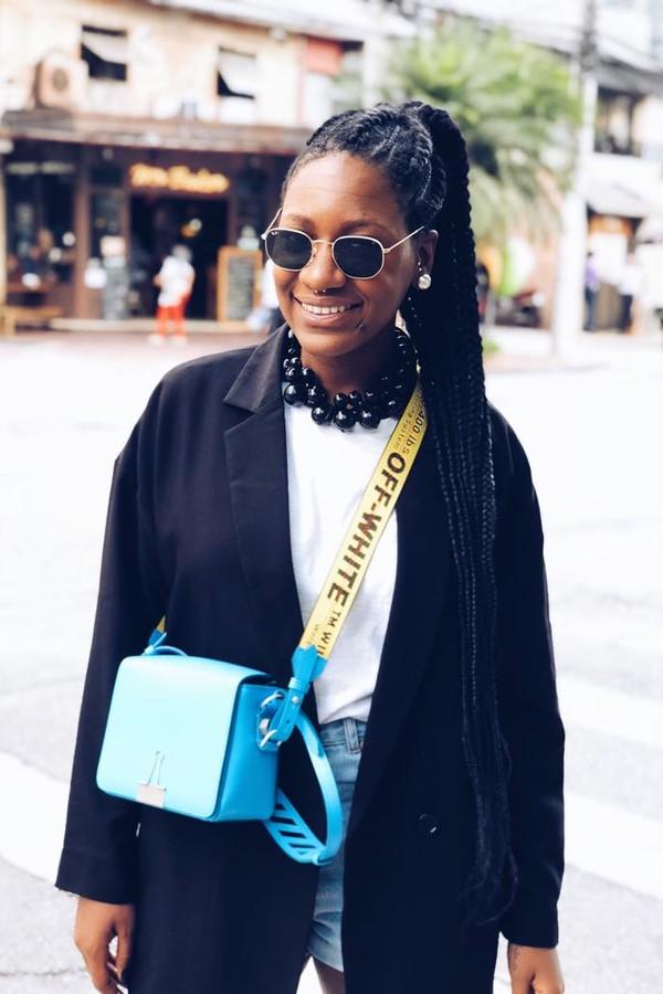 Luanda Vieira, repórter de moda (Foto: Reprodução Instagram @luandavieira)