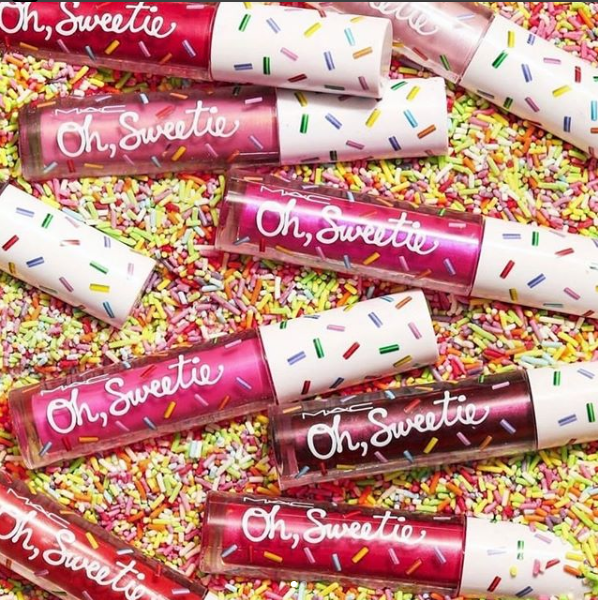 Os Glosses Oh Sweetie Lip Colour, da MAC (Foto: Divulgação)