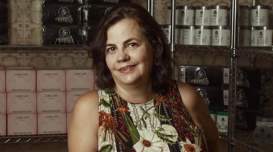 Teresa Foglia, cofundadora da Long Life (Foto: Julia Rodrigues)