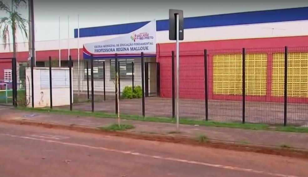 Escola onde o garoto estudava e acabou morrendo (Foto: Reprodução/TV TEM)