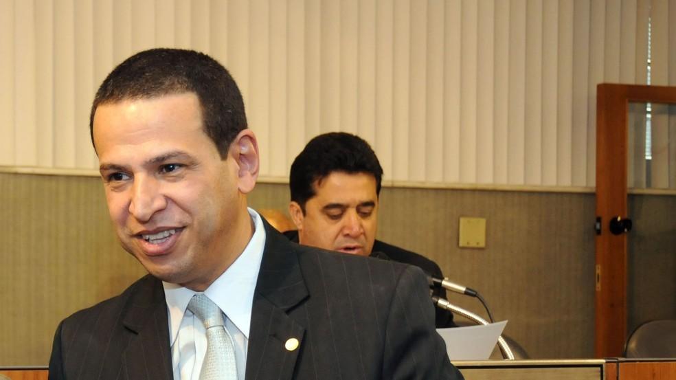 Deputado estadual mineiro Cabo Júlio (MDB) (Foto: Ricardo Barbosa/ALMG)