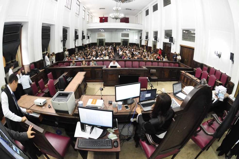 Kátia Vargas é absolvida pelo júri popular, em Salvador (Foto: Divulgação/TJ-BA)