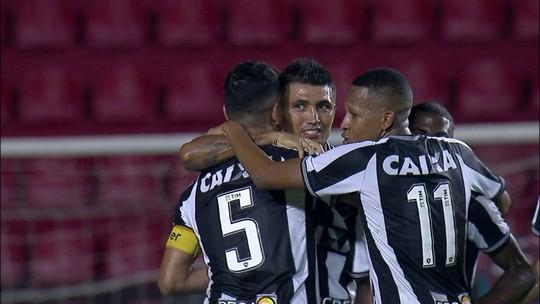 Os gols de Sport 1 x 1 Botafogo