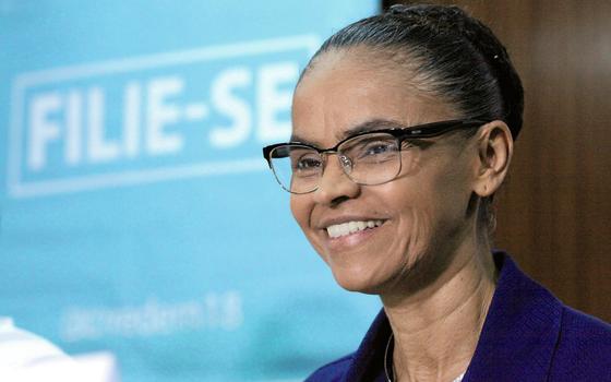 A ex senadora Marina Silva  (Foto:  Humberto  Salles/Futura Press)