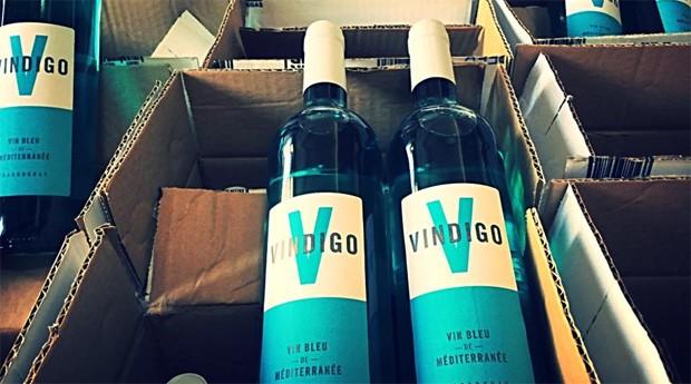Vindigo: Vinho azul vira tendência na França (Foto: Divulgação )