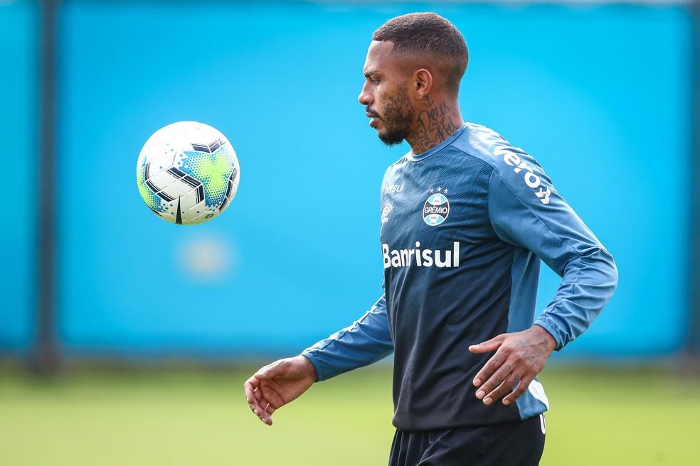 Paulo Miranda, zagueiro do Grêmio — Foto: Lucas Uebel/Grêmio