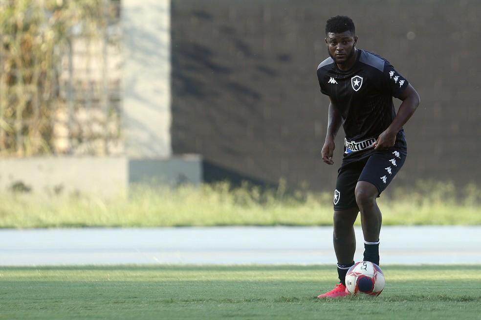 Rafael Carioca estava no Botafogo — Foto: Vitor Silva/Botafogo
