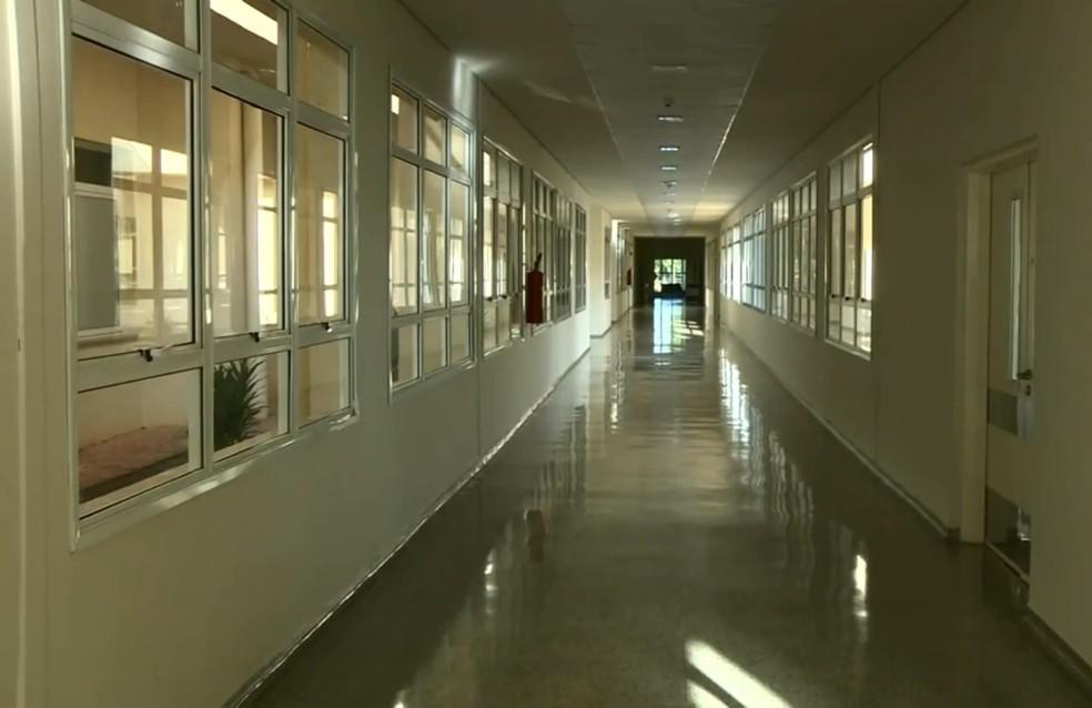 Hospital Regional de Piracicaba: média de ocupação de leitos teve redução na cidade — Foto: Reprodução/EPTV