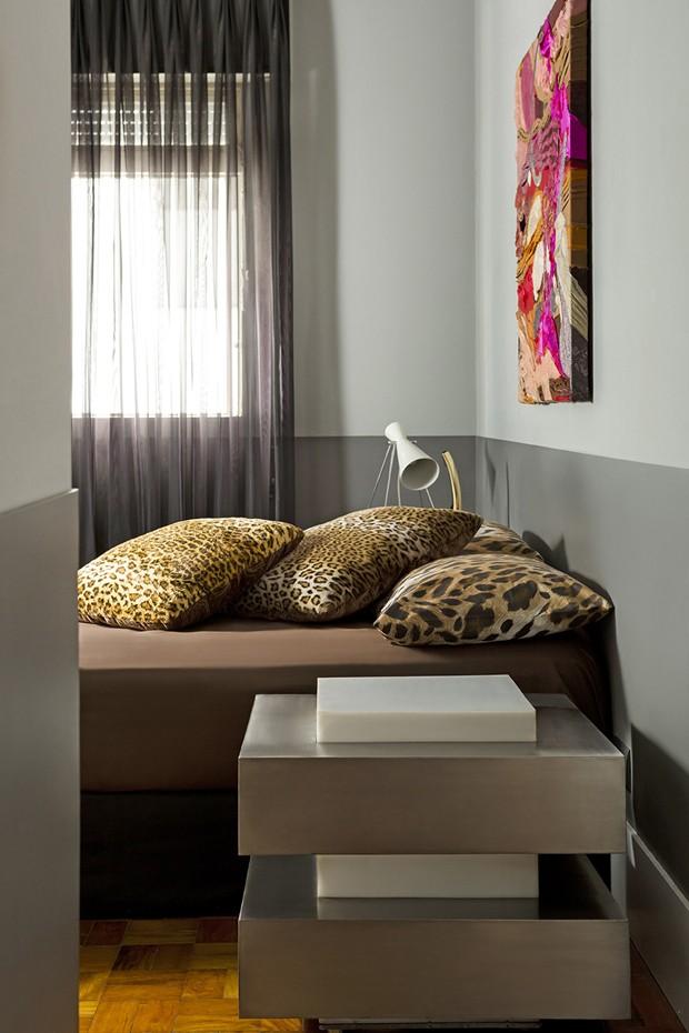 Decoração vintage é destaque em apartamento pequeno (Foto: Divulgação)