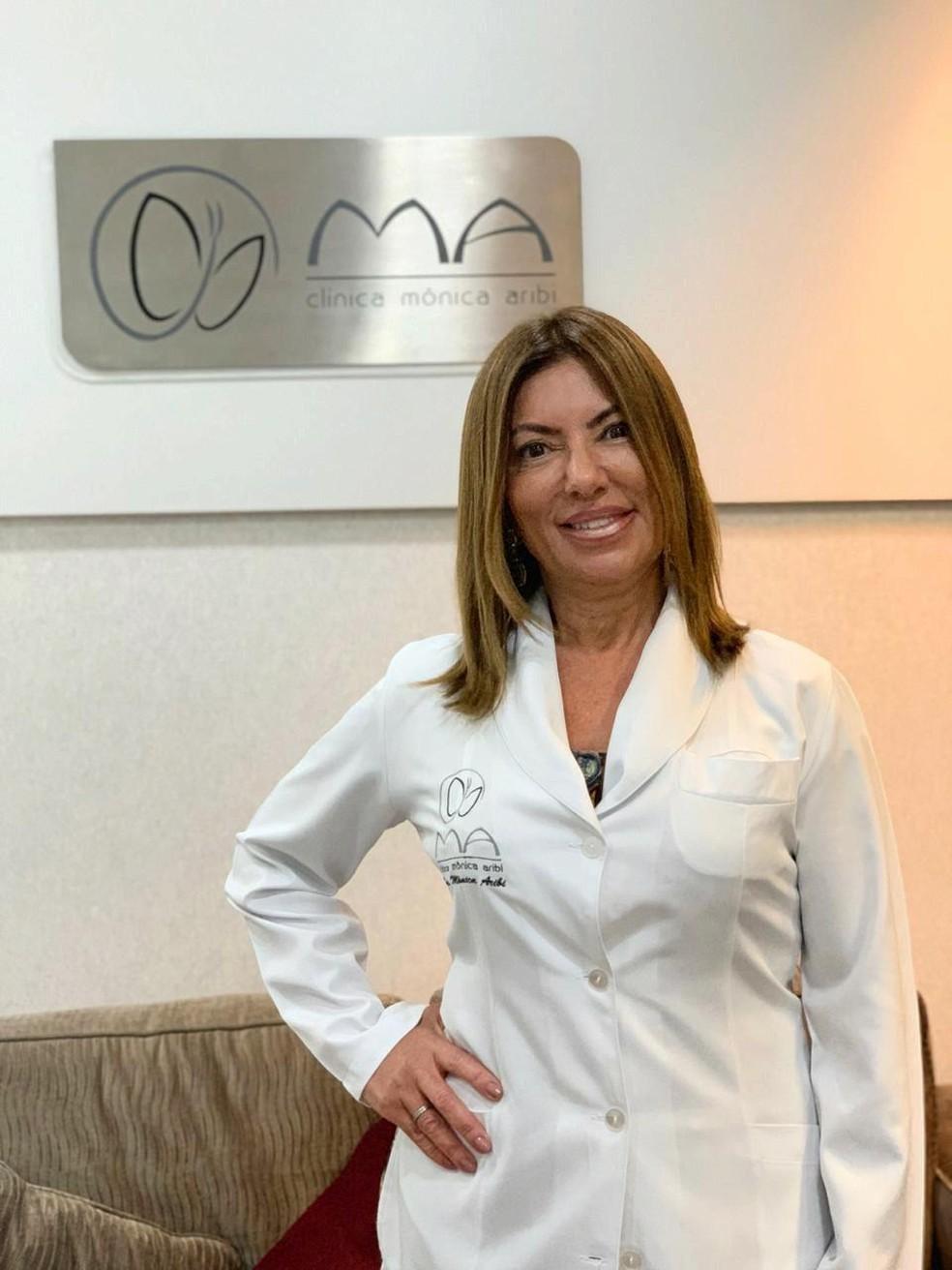 Dra. Mônica Aribi (CRM 53387/SP) — Foto: Divulgação