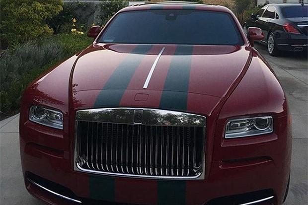 Rolls Royce Ghost - Kylie Jenner (Foto: Instagram)