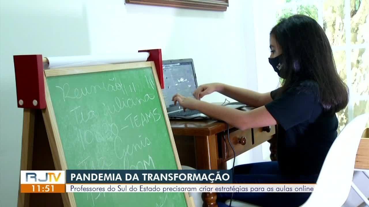 Professores das cidades da região criam estratégias para dar aulas online