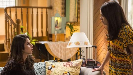 Sabrina Petraglia e Chandelly Braz comentam cena emocionante entre Shirlei e Carmela em 'Haja Coração'