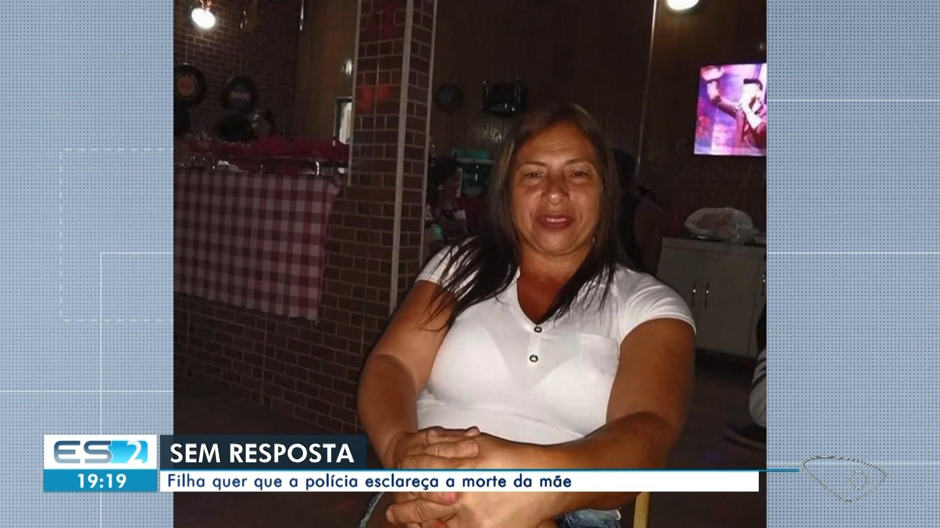 Filha cobra explicações sobre a morte da mãe, assassinada há cinco meses perto do presídio de Xuri, em Vila Velha