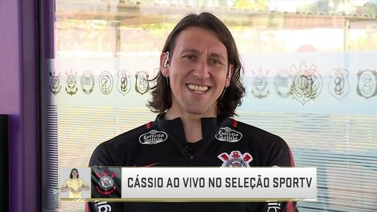 """Cássio, sobre milagre contra o Botafogo: """"Achei que não ia conseguir chegar"""""""