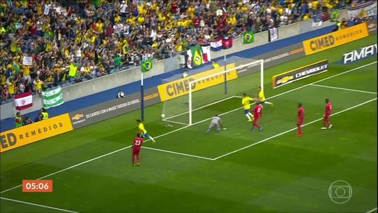 Brasil e Panamá empatam em 1 a 1 em amistoso