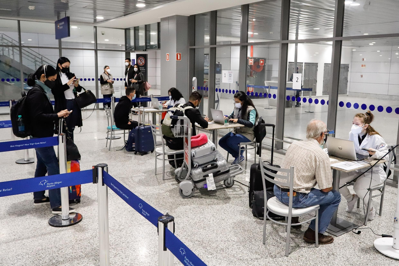 Barreira sanitária no Aeroporto de Porto Alegre registra 24 casos de Covid em uma semana