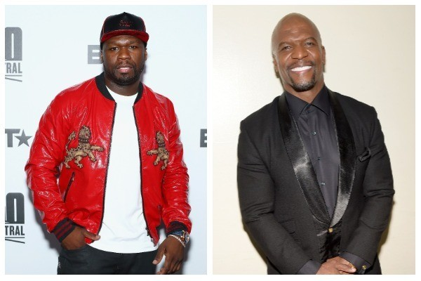 50 Cent e Terry Crews (Foto: Getty Images)