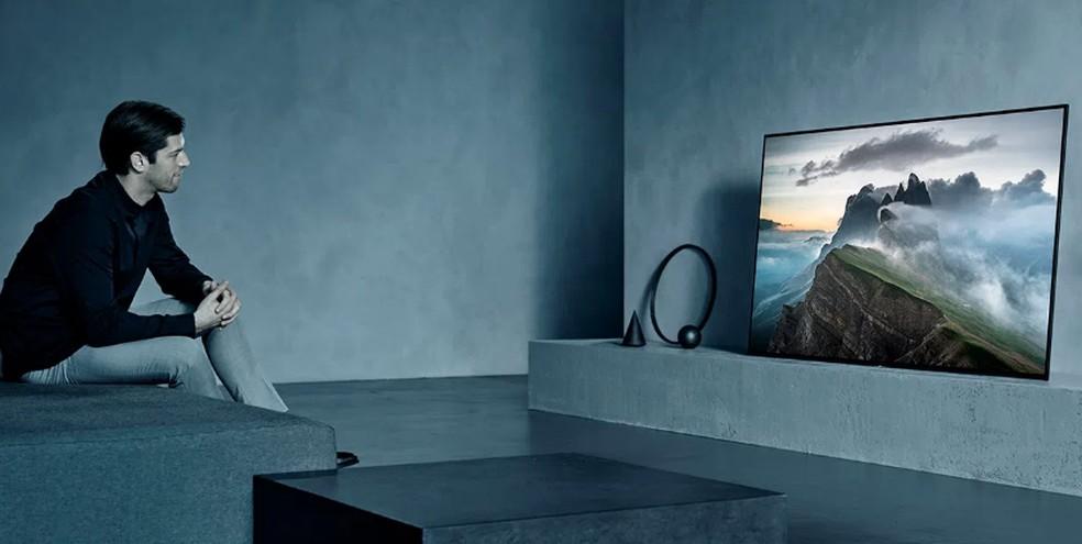 TVs top de linha tendem a oferecer maiores taxas de atualização — Foto: Divulgação/Sony