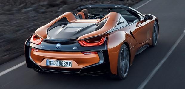BMW i8 roadster (Foto:  divulgação)