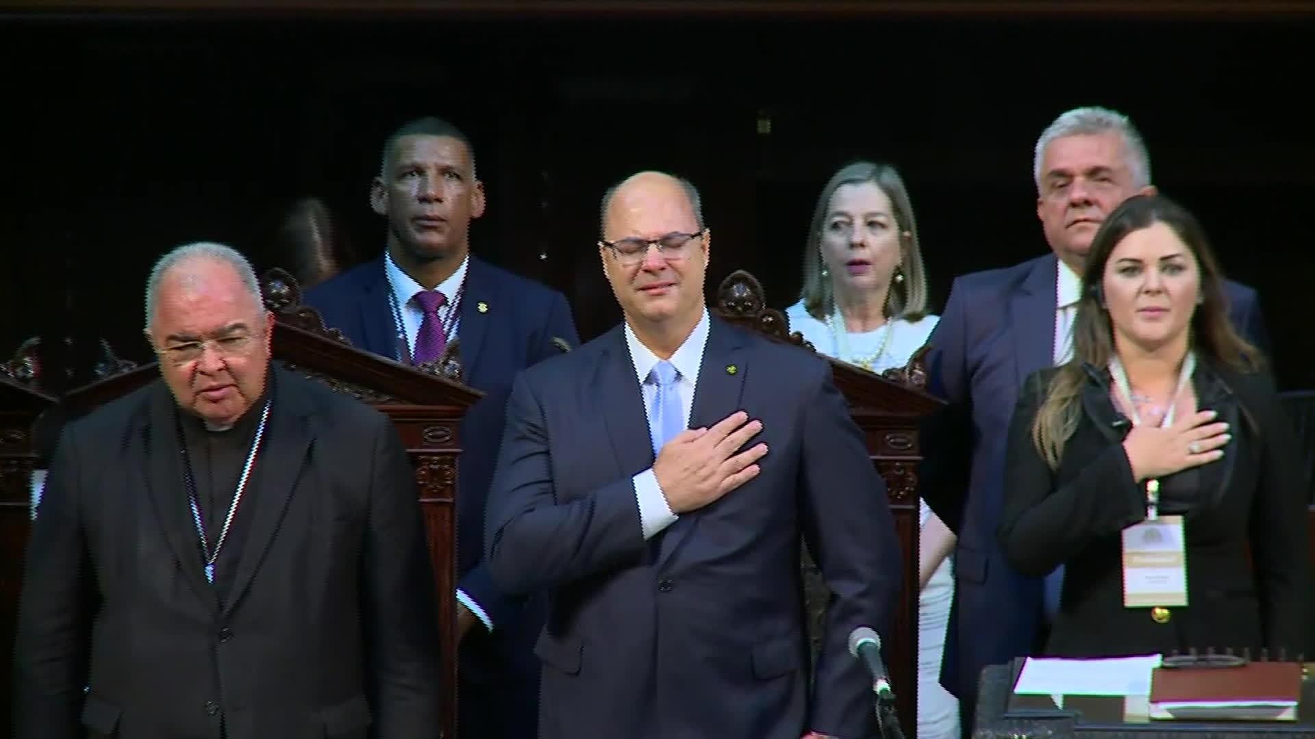 Veja a íntegra do discurso de Wilson Witzel ao ser empossado governador do RJ