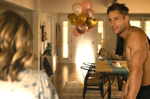 Justin Hartley em cena de 'This is us' como Kevin (Foto: Divulgação)