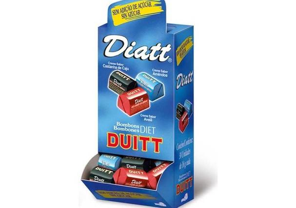 Bombons Sortidos Diet, Diatt (Foto: Divulgação)