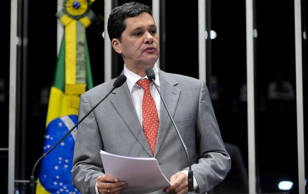 O senador Ricardo Ferraço (PSDB-ES) (Foto: Geraldo Magela/Agência Senado)