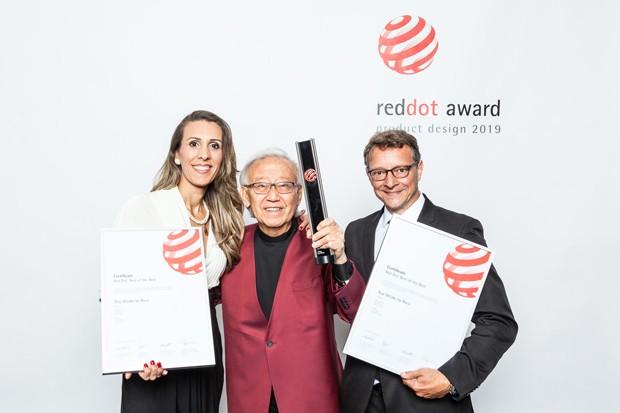 Designers brasileiros são premiados com o Red Dot Award 2019 (Foto: Divulgação)